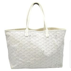 Goyard St Louis PM White